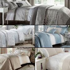 Buttoned Floral 100% Cotton Bedding Sets & Duvet Covers