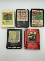 Lot of 5 x 8 Track Tapes Paul McCartney RAM, Wings, John Lennon, Ono, Beach Boys