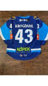 Ice Hockey Jersey - Coventry Blaze - Game Worn - #43 Max Krogdahl