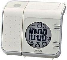 Orologi da tavolo bianco digitale in plastica