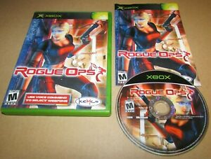 Rogue Ops for Microsoft Xbox Complete Fast Shipping