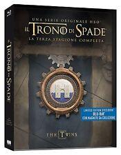TRONO DI SPADE STAGIONE 3, EDIZIONE STEELBOOK ITALIANA (5 BLU-RAY) SERIE TV