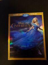 Disney, Cinderella, Blu Ray+Dvd W/Slipcover No Digital Copy, Lot B1.