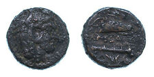 alexander the great  AE 20 soli mint , RARE