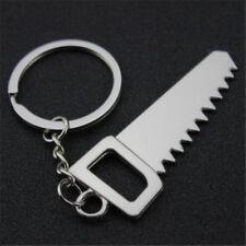 Creative 3D Mini Saws Working Tool Keychain Keyring Alloy Key Ring Chain Gift ^