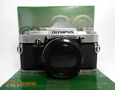 OLYMPUS OM30 35MM FILM CAMERA BODY BOXED VERY GOOD CONDITION