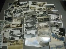 Real Photo Postcard / photo , new used vintage 44pc lot   B