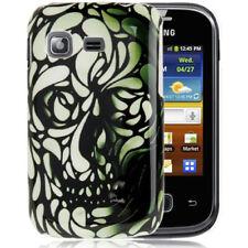 Hardcase Schutzhülle für Samsung S5300 Galaxy Pocket abstrakter Totenkopf Cover