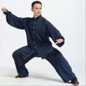 Kampfsport Kung Fu Wushu Kleidung Anzug Taiji Uniform Chinesisch Kleid Kostüm