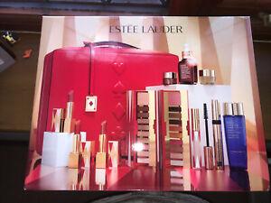 Estée Lauder 2019 xmas holiday blockbuster gift set Make Up Eye Remover Lipstick