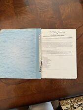 Alcoholics Anonymous - Original Manuscript - Copy From 1997