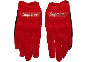 """Supreme Spring/Summer 2018 Supreme / Fox Racing Bomber Glove """"Red"""" SS18A7"""