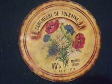 etiquette ancienne CAMEMBERT DE TOURAINE  N°12