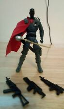 GI Joe Black Helmet Destro is here(3.75 inch action figure)with weapons!