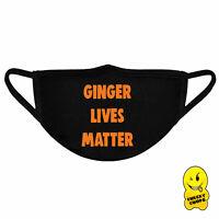 Ginger Face Mask Face Covering Unisex Reusable Washable FM03