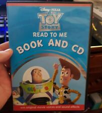Disney's Read To Me - TOY STORY Book and CD - FREE POST *