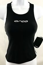 Orca Triathlon 226 New Women's Sz Small Black & White Tri Singlet Built In Bra
