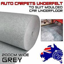 Underlay Underfelt Auto Marine Carpet Felt Cab Ute Boot Prevent Dust Stain 4Sqm