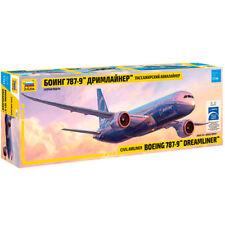 Zvezda 7021 boeing 787-9 dreamliner-long fuselage 1:144 aircraft model kit