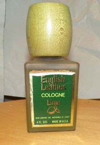 Vintage English Leather Lime Cologne 4 FL OZ NOS