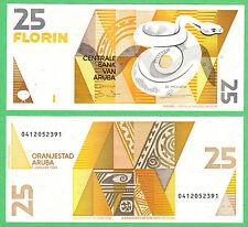 Aruba 25 Florin Note P-8  UNCIRCULATED