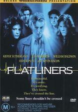 FLATLINERS (Kiefer SUTHERLAND Julia ROBERTS Kevin BACON) THRILLER DVD NEW Reg 4