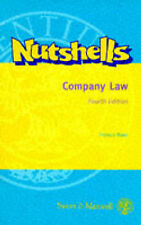 Very Good, Company Law (Nutshell), Rose, Francis, Book