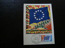 FRANCE - carte 1er jour 22/11/1975 (conseil de l europe) (cy16) french