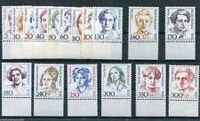 Berlin alle Frauen postfrisch komplett mit Unterrand Michel 70,00 € 830,828,849,