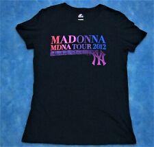 Madonna Mdna Tour de T-Shirt Yankee Stadium fecha exclusivo 2012 Rare sold-out