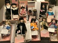 LOT OF 12 MYD PORCELAIN DOLLS W/ COAs & IN THEIR ORIGINAL BOXES!!