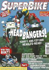 FZR1000 Genesis EXUP ROC GP1 500GP FZR600R GSX-R750 RC45 ZX-9R RF900R Ducati 916