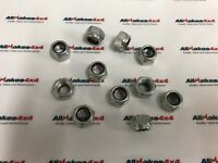 Allmakes Land Rover Series, Defender & Discovery 1 Propshaft Nut Set X10 Nuts