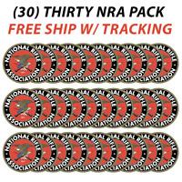"""(30) NRA National Rifle Association Gun 2nd Amendment Vinyl Stickers Decal 3""""x3"""""""