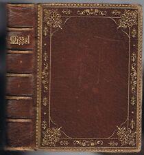 MISSEL de PALESTINE n°110 Latin Français approuvé par BOGAERTS Édit. Smyrne 1896