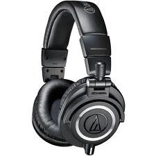 Audio-Technica ATH-M50X Professional Studio Headphones (Black)
