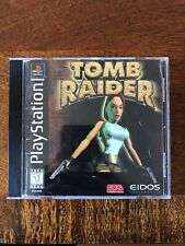 Tomb Raider (Sony PlayStation 1, 1996) - Disc & Manual Only