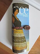 Vintage 1970's Retro Mod ELEGANCE PARIS Magazine Clutch Handbag Purse, Iconic