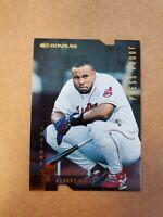 1997 Donruss Gold Press Proof #d /500 Albert Belle SP #160 Cleveland Indians
