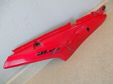 06 Suzuki V Strom DL650 REAR TAIL LEFT FAIRING / SIDE COVER RED COWL