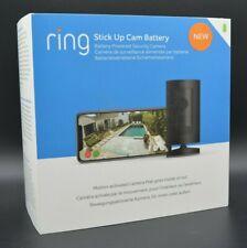Ring Stick Up Cam Battery WLAN IP Überwachungskamera 1080p HD BRANDNEU schwarz