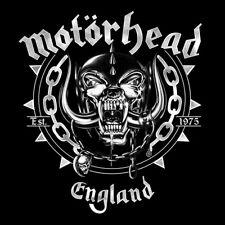 Motorhead England Logo Stretch Canvas Wall Art 40cm X 40cm Official