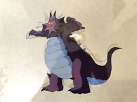 The Real Ghostbusters 1987 Production Animation PURPLE DRAGON GHOST Cel  DIC