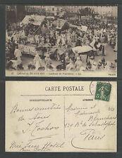 1913 CARNAVAL DE NICE FRANCE # 17 CAUCHEMAR des PROPRIETAIRES POSTCARD