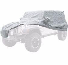 SmittyBilt Complete Car Cover Kit in Gray for 07-17 Jeep JK Wrangler 4 Door, 835