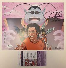 JSA COA SIGNED/NUMBERED Art Print: Dragon Ball Z Sean Schemmel Goku Angel/Demon!