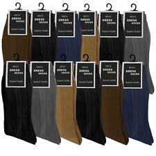 12 PK ASSORTED COLORS NYLON DRESS SOCKS SIZE 10-13 THIN AND SOFT DRESS SOCKS