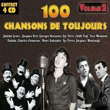 CD Coffret 4 CD 100 chansons de toujours - Vol. 2 / IMPORT