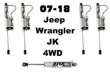 Fox 2.0 IFP Remote Reservoir Shocks + Stabilizer For 07-18 Jeep Wrangler JK 4WD