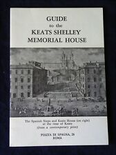 ITALY, ROME. Guide to the Keats Shelley Memorial House. (Paperback booklet, 1979